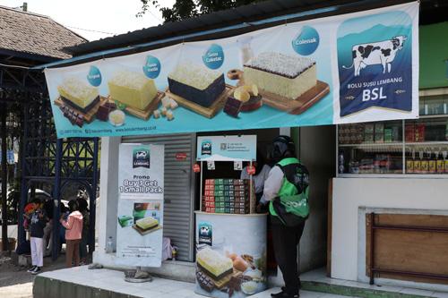 Kios Bolu Susu Lembang