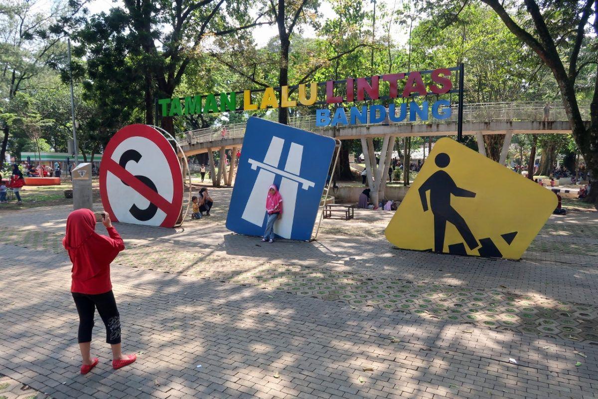 taman lalu lintas sebagai taman di Bandung ramah anak
