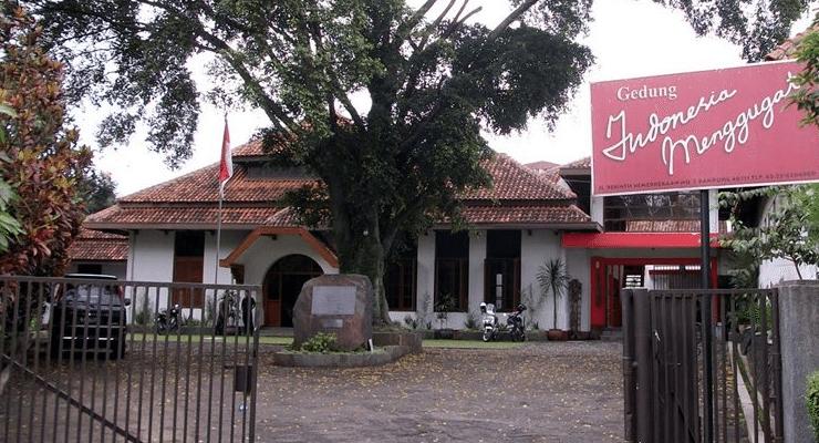 Gedung Indonesia Menggugat sebagai salah satu tempat bersejarah di Bandung
