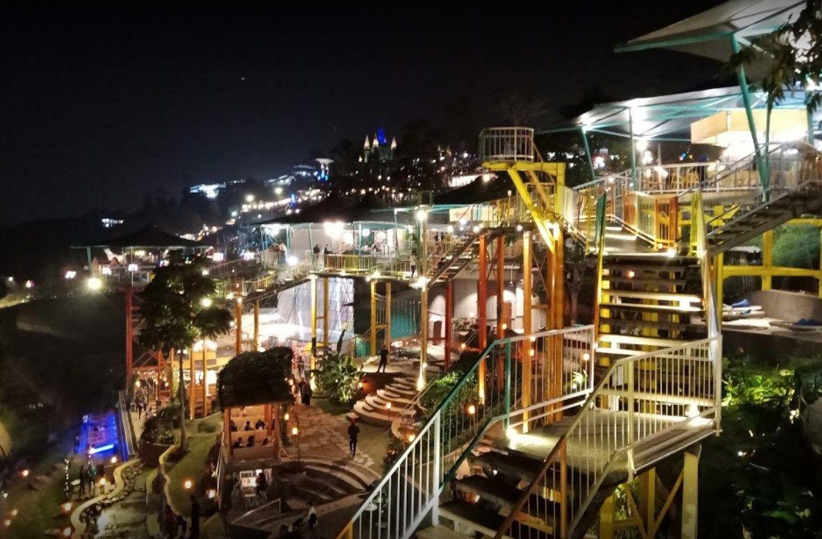 tempat nongkrong Bandung malam