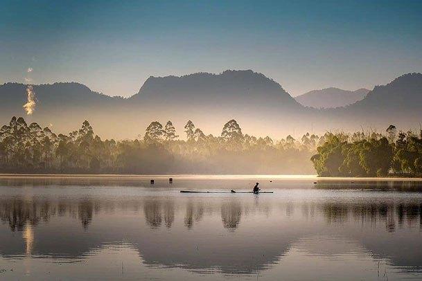 danau wisata Bandung