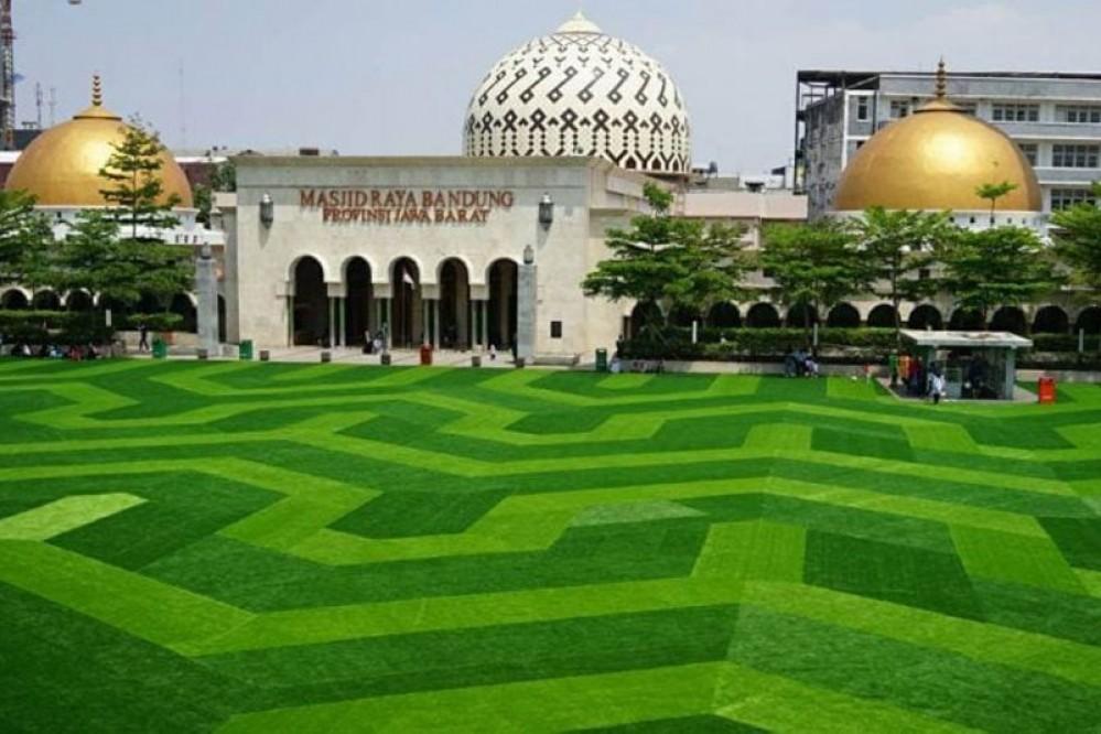 Alun-alun taman di Bandung