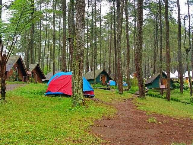 tempat camping di lembang